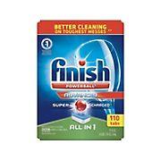 Finish Powerball Advanced Dishwasher Detergent, 110 ct.
