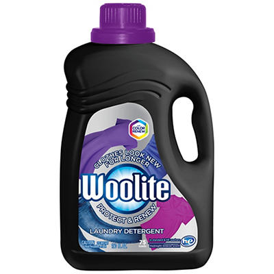 Woolite Protect & Renew Laundry Detergent, 75 Loads, 150 fl. oz.