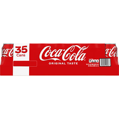 Coca-Cola, 35 pk./12 oz. cans