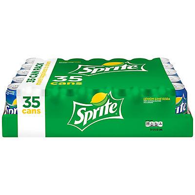 Sprite, 35 pk./12 oz. cans
