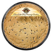 Cobblestone Bakery Chocolate Chip Message Cookie, 22 oz.