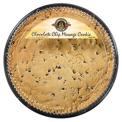 Cobblestone Bakery Chocolate Chip Message Cookie, 22 oz.