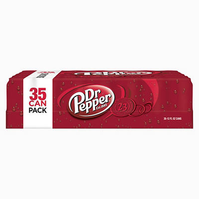 Dr. Pepper, 35 pk./12 oz. cans
