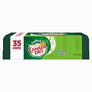 Canada Dry Ginger ALe, 35 pk./12 oz.