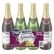 Welch's Sparkling Grape Juice, 4 pk./25.4 oz.