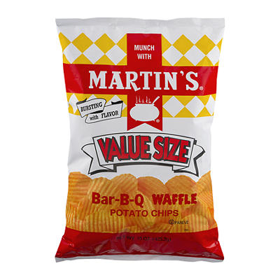 Martin's Value Size Chips, 15 oz.
