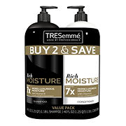 TRESemme Moisture Rich Shampoo and Conditioner, 2 ct./40 oz.