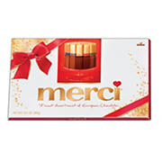 Merci Assortment of European Chocolates Holiday Box, 14.1 oz.