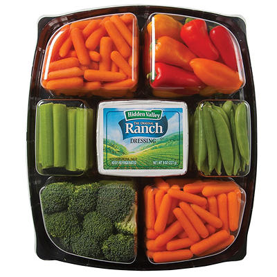 Ready to Eat Vegetable Tray, 64 oz