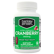 Berkley Jensen 500mg Ultra-Strength Cranberry Supplement, 150 ct.