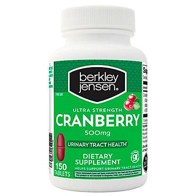 Berkley Jensen 500mg Ultra-Strength Cranberry Supplement, 150 ct.