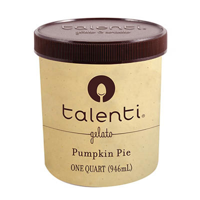 Talenti Pumpkin Pie Gelato, 32 oz.