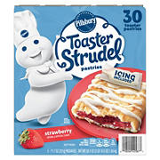 Pillsbury Strawberry Toaster Strudel Pastries, 30 ct./1.95 oz.