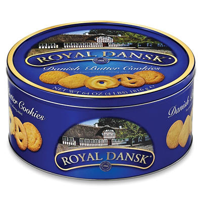 Royal Dansk Danish Butter Cookie Assortment, 4 lbs.