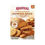 Krusteaz Pumpkin Spice Baking Mix, 3 pk.