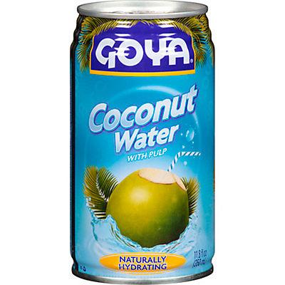 Goya Coconut Water, 11.8 oz.., 6 Cans