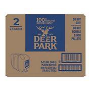Deer Park 100% Natural Spring Water, 2.5 gal.