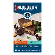 Clif Builder's Protein Bar Variety Pack, 18 ct.