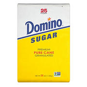 Domino Premium Pure Cane Granulated Sugar, 25 lbs.