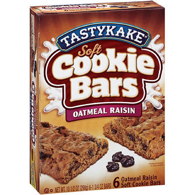 Tastykake Oatmeal Raisin Snack Bars