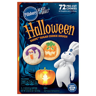 Pillsbury Halloween Cookies, 3 ct./11 oz.