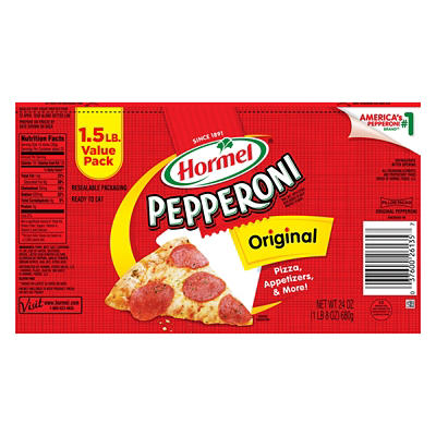 Hormel Sliced Pepperoni, 24 oz.