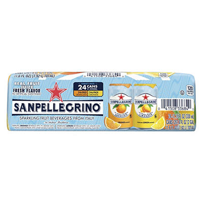 San Pellegrino Rainbow Sparkling Fruit Drink, 24 pk./11.15 oz.