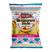 HERR'S Restaurant Style Tortilla Chips, 18 oz.