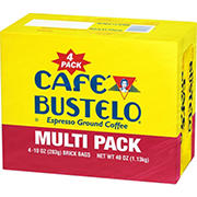 Cafe Bustelo Espresso Coffee, 4 pk./10 oz.