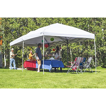 Portal 10 X 20 Steel Frame Canopy With Rolling Carry Bag