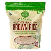 Wellsley Farms Organic Long-Grain Brown Rice, 4 lbs.