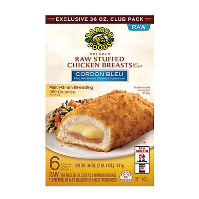 Barber Foods Cordon Bleu Stuffed Chicken, 36 oz.
