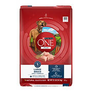 Purina ONE SmartBlend Natural Large Breed Formula Adult Dry Dog Food, 31.1 lbs.
