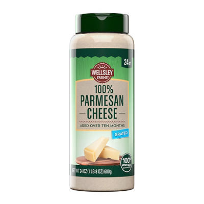 Wellsley Farms Parmesan Cheese, 24 oz.