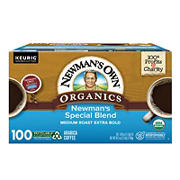 Newman's Own Organics Newman's Special Blend Medium Roast Coffee Keurig K-Cup Pods, 100 ct.