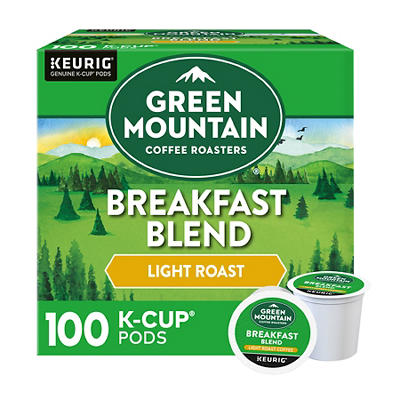 Green Mountain Coffee Roasters Breakfast Blend Light Roast Coffee Sing