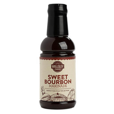Wellsley Farms Sweet Bourbon Marinade, 30 oz.