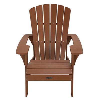 Lifetime Adirondack Chair - Brown