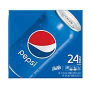 Pepsi Soda, 24 pk./12 oz. cans