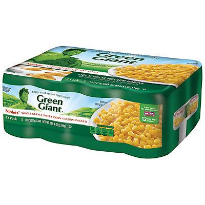 Green Giant Niblets Whole Kernel Sweet Corn, 12 pk./11 oz.