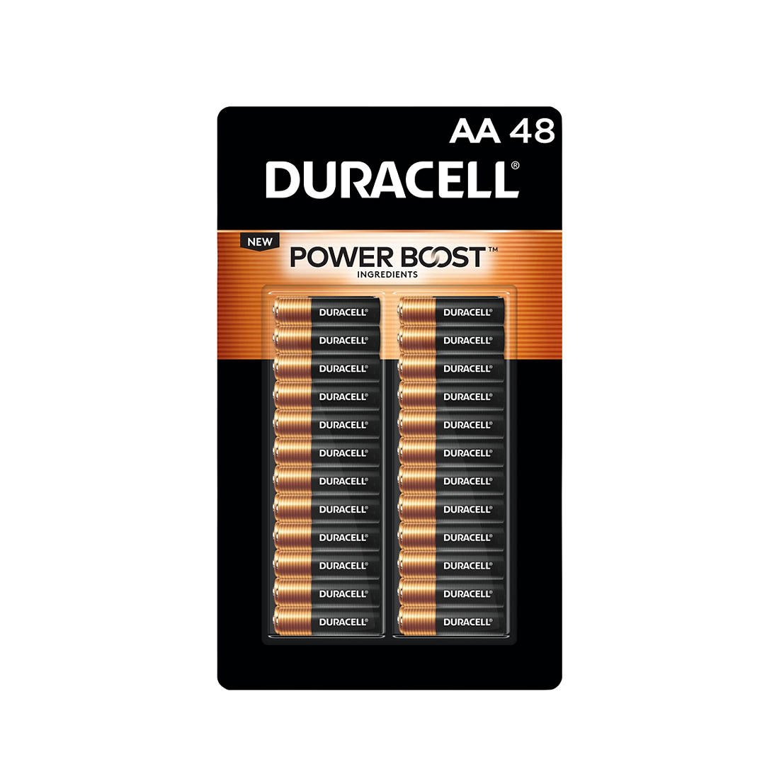 photo about Duracell Coupons Printable named Duracell CopperTop AA Batteries, 48 ct.