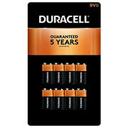 Duracell CopperTop 9V Batteries, 8 ct.