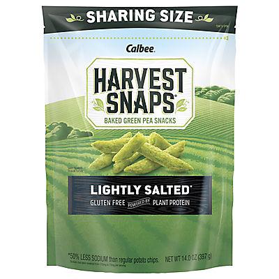Harvest Snaps Lightly Salted Green Pea Crisps, 14 oz.