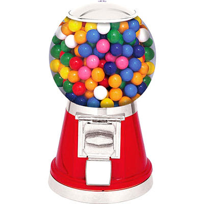 Selectivend Classic Gumball Vending Machine - Red