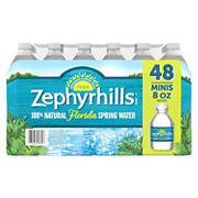 Zephyrhills 100% Natural Spring Water, 48 pk./8 oz.