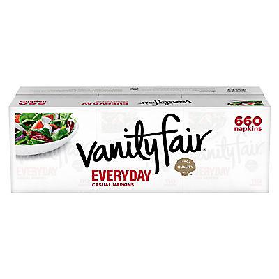 Vanity Fair Everyday 2-Ply Napkins, 660 ct. - White