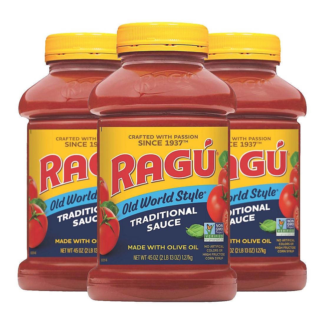 Ragu Traditional Spaghetti Sauce, 3 ct
