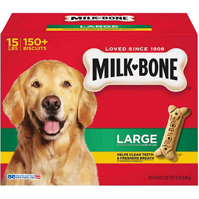 Milk-Bone Original Large Dog Biscuits, 14 lbs.