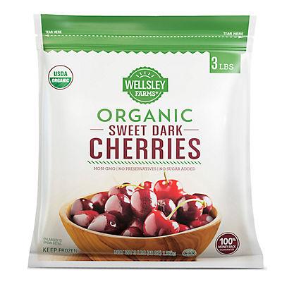 Wellsley Farms Organic Cherries, 3 lbs.