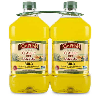 Pompeian Classic Pure Imported Olive Oil, 2 pk./3L